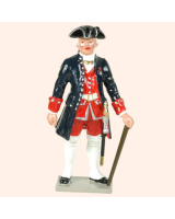 0617 1 Toy Soldier Officer French Colonial Artillery Kit