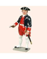 0617 2 Toy Soldier Sergeant with Portfire French Colonial Artillery Kit