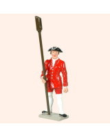 0617 4 Toy Soldier Gunner with Powder Scoop French Colonial Artillery Kit