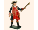 618 1 Toy Soldier Officer Royal Artillery 1750 Kit