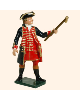 0618 1 Toy Soldier Officer Royal Artillery 1750 Kit