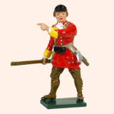 619 1 Toy Soldier Officer British Light Infantry Kit