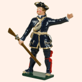 620 1 Toy Soldier Officer Compagnies Franches de la Marines Kit