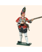 0651 5 Toy Soldier Grenadier at the ready Kit