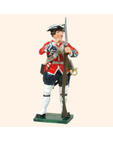 0653 08 Toy Soldier Private loading musket, down Kit