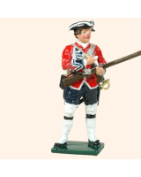 0653 09 Toy Soldier Private loading musket, in hand Kit