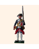 0660 4 Toy Soldier Private Shouldering rifle Kit