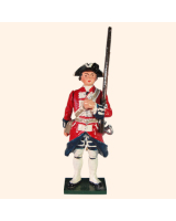 0663 4 Toy Soldier Private Shouldering rifle Kit