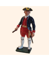 665 1 Toy Soldier Officer Kit