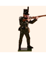 0705 6 Toy Soldier Rifleman firing Kit