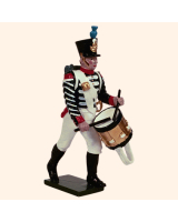 0717 2 Toy Soldier Fusilier Drummer Kit