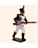 0718 1 Toy Soldier Fusilier advancing Kit
