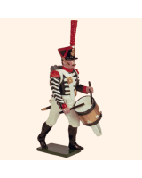 0722 2 Toy Soldier Grenadier Drummer Kit