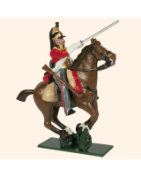 0732 2 Toy Soldier Trooper, Horse leg together Kit