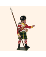 0738 1 Toy Soldier Sergeant Kit