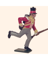 0742 7 Toy Soldier Private running loading Kit