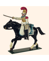 0745 1 Toy Soldier Trooper Horse leg stretched out Kit