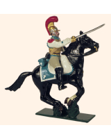 0745 2 Toy Soldier Trooper Horse leg together Kit