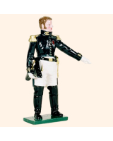 0746 5 Toy Soldier Staff Officer Kit