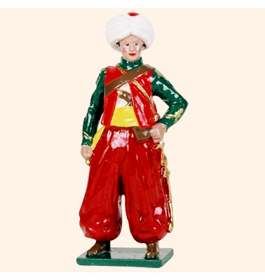 746 6 Toy Soldier Mameluke Roustam Kit