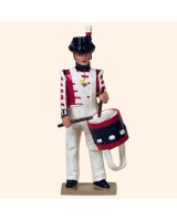 0751 3 Toy Soldier Drummer Kit