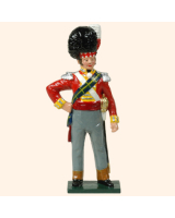 0752 6 Toy Soldier Colonel Brigadier of Highlanders Kit