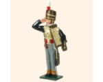 752 7 Toy Soldier Hussar Officer Kit
