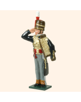 0752 7 Toy Soldier Hussar Officer Kit