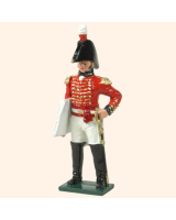 0752 8 Toy Soldier Staff Officer Kit