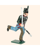 0753 1 Toy Soldier Officer The 60th rifle Kit