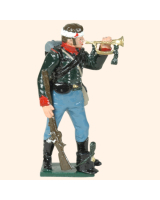0753 3 Toy Soldier Bugler The 60th rifle Kit