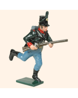 0753 4 Toy Soldier Rifleman Running Kit