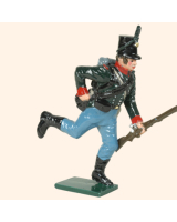 0753 5 Toy Soldier Rifleman Running Loading Kit