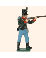 0753 6 Toy Soldier Rifleman Firing Kit