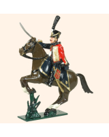 0754 1 Toy Soldier Officer 4th Reg  French Hussars Kit