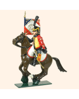 0754 2 Toy Soldier Eagle Bearer 4th Reg  French Hussars Kit