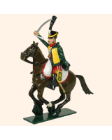 0757 2 Toy Soldier Trooper, sitting up, Horse leg together Kit