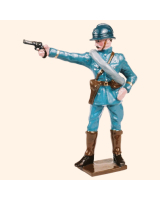 0801 1 Toy Soldier Officer Kit