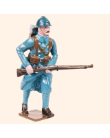 0801 5 Toy Soldier Private advancing Kit