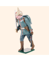 0810 1 Toy Soldier Officer advancing Kit