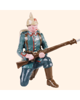 0810 6 Toy Soldier Private kneeling Kit