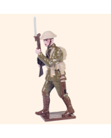 0814 4 Toy Soldier Private advancing helmet cover Kit
