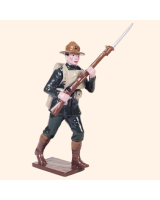 0816 3 Toy Soldier Private advancing Kit