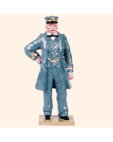 0907 1 Toy Soldier Officer Kit