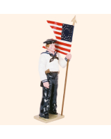 0908 3 Toy Soldier Guidon Bearer Kit