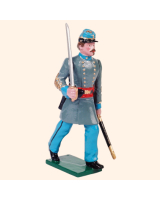 0910 1 Toy Soldier Officer marching Kit