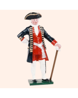 PG 1 Toy Soldier Officer Potsdam Giant Grenadiers Kit
