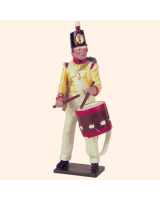 SR2 4 Toy Soldier Drummer  South Essex Regiment Kit