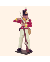 SR2 6 Toy Soldier Private loading  South Essex Regiment Kit