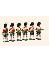 106 Toy Soldiers Set 93rd Highlanders Painted